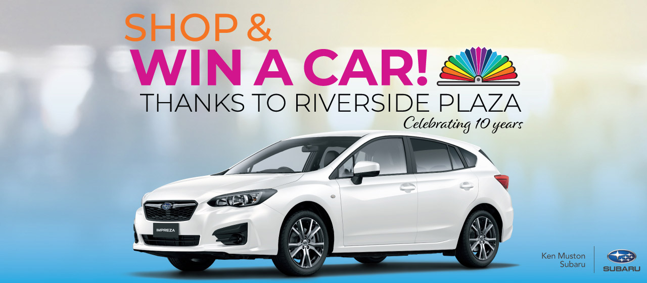 Shop and win a car!